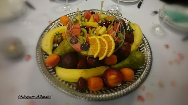 Corbeille fruits originale